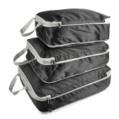 3pcs Packing Cube Set Compression Bags Luggage Organizer for Travel Bussiness Trip