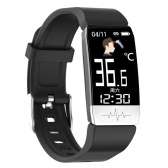 T1S Body Temperature Detection Intelligent Bracelet Multi-Function Body Health Monitor IP67 Waterproof Sport Bracelet
