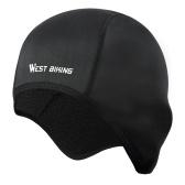 WEST BIKING Winter Radmütze Winddichtes Thermo-Fleece Laufen Skifahren Motorrad Kopf Hut Kopfbedeckung Bandana Bike Warme Mützen