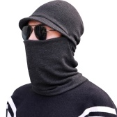 Men Neck Warmer Winter Cap Face Mask for Cold Weather