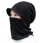 Women Winter Cap Neck Gaiter Warmer  Multifunctional Cloth Mask