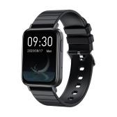 1.65 Inch Screen BT 5.0 Smart Watch Smart Fitness Tracker Activity Tracker Watch Smart Fitness Watch IP67 Waterproof Heath Data Record Phone Massage Reminder