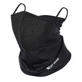 WEST BIKING летний спортивный шарф, головной убор для велоспорта, пыленепроницаемая велосипедная маска для ушей