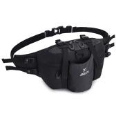 Women Men Sports Waist Pack Bag with Bottle Holder for Camping Climbing Cycling Traveling Waist Bag Handbag Shoulder Bag