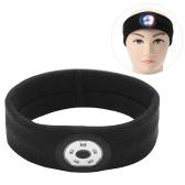 Спортивные повязки на голову со светодиодной подсветкой для мужчин, женщин, повязки на голову для тренировок, повязки на голову для бега на открытом воздухе, ночная безопасность