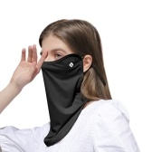 Outdoor UV Protection Face Cover Breathable Dustproof Adjustable Earloop Neck Gaiter Bandana for Running Hiking Cycling