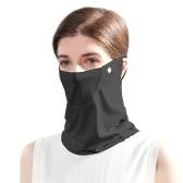 Frauen Sommer Gesichtsschutz UV-Schutz Earloop Neck Gamasche Atmungsaktives Gesichtstuch Sturmhaube für Outdoor-Sportarten