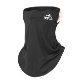 Männer Frauen Gesichtsschutz UV-Schutz Earloop Neck Gamasche Elastisch Schnell trocknend zum Radfahren Wandern im Freien