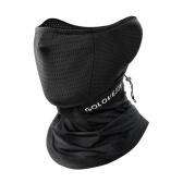 Unisex Cooling Face Cover Reflektierende Besatz Feuchtigkeitsableitende Elastische Halsgamaschen Bandana zum Radfahren Angeln Klettern
