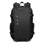OZUKO Casual Rucksack Große Kapazität 16 Zoll Computertasche USB-Kabelanschluss Wasserdicht Buiness Trip Reiserucksack