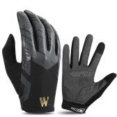 WEST BIKING Wasserdichter Handschuh Alle Finger Touchscreen Wasserdichter Wintersport Laufen Radfahren Fahrradhandschuh