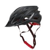 Capacete de ciclismo respirável Lixada com viseira de sol feminino masculino Capacete de segurança leve para bicicleta de montanha.