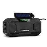 Notfall Solar Handkurbel Radio 5000mAh Power Bank Ladegerät Blitzlicht Outdoor Camping Survival Radio