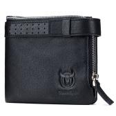 Men Bifold Leather Wallet RFID Blocking Travel Wallet Purse Credit Card Holder