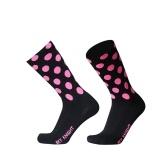 Meias de ciclismo de esportes ao ar livre meias de compressão elástica meias respiráveis de bicicleta para homens e mulheres
