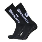 Meias de corrida para esportes ao ar livre Meias de compressão e alongamento para futebol americano Futebol meias meias antiderrapantes com alças