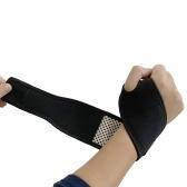 Braçadeira esportiva Compressão Tiras de pulso Pesca Fitness Yoga Palmas das mãos Tiras das palmas das mãos Tiras de proteção das mãos Autoaquecimento Bracelete de apoio de pulso Wraps Pulseira