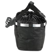 Bicycle Bike Detachable Cycle Front Canvas Basket Carrier Bag Pet Carrier Aluminum Alloy Frame