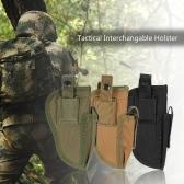 Tattici esterni Holster Destra Sinistra intercambiabili con Mag Pouch militare Gear Accessori tasca utility Strumento