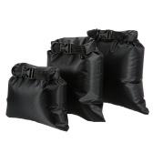 Pack de 3 1L + 2L + 3L seco del filtro impermeable al aire libre portátil ultraligero en seco Sacks campamento itinerante Kayak