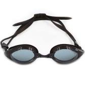 Mujeres Hombres reductor de reflejos de espejo gafas de natación recubrimiento anti-vaho protección UV baño natación Gafas de deporte Gafas Gafas con la caja de almacenamiento para adultos