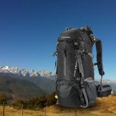 Lixada 50L Wasserdichter Outdoor Rucksack mit Regenhülle