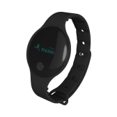 Ultra Thin Fitness Tracker Health Sleep Activity Tracker Sport Watch Wristband Smart Clock Sedentary Reminder Smart Bracelet Outdoor Running Walking for iPhone/Android IP66 Waterproof