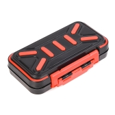 16 Compartments Fishing Bait Compartments Plastic Fishing Bait Case Double Layer Lure Box Fishing Bait Storage Box Fishing Bait Holder Containers Fishing Tackle Accessory