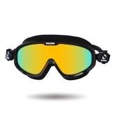 Schwimmen Goggle Anti Fog Shatterproof UV Schutz Einstellbar Schwimmen Glas Wasser Schutzbrillen mit Fall für Männer Frauen