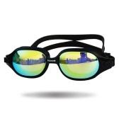Occhialini da nuoto Anti Fog Infrangibili Protezione UV Occhiali da nuoto in vetro regolabile con custodia Silica Gel Occhiali da nuoto anti-fog con protezione anti-UV Vetro con cinturino regolabile