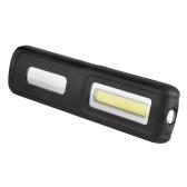 Lampada USB ricaricabile a LED da lavoro portatile Lampada a sospensione a luce magnetica Lampada da campeggio esterna Lanterna da campeggio