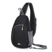 Outdoor Sling Bag Nylon Crossbody Backpack Men Women Causal Chest Triangle Bag Cycling Chest Pack