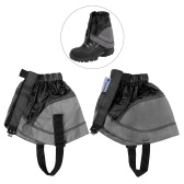 1 Pair Short Shoe Gaiter Ultra Light Ankle Gaiter Coated Nylon Ankle