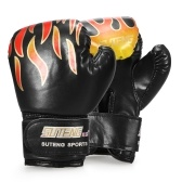 Breathable Safety Punch Training Leather Gloves