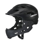 Kid Bike casco de cara completa desmontable Chin