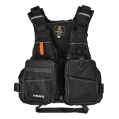 Fly Fishing Vest Outdoor Fishing Jacket Vest Pack with Removable Padding for Camping Hiking Photography