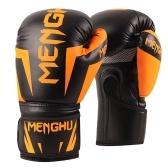 Boxhandschuhe Kickboxen Muay Thai Punching Trainingstasche Handschuhe Outdoor Sporthandschuhe Boxübungsausrüstung für Boxsack Sack Boxpads für Männer und Frauen 12oz