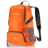 折り畳み式のバッグをトレッキング TOMSHOO 30 L 超軽量防水ナイロン屋外バックパック旅行