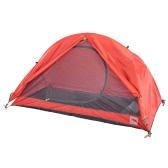 Naturehike Double Layer 1 один человек 3 Сезон алюминиевая катанка Открытый палатки кемпинга Алюминиевые Поляки палатки