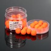 30pcs Bean Form EPS-Schaum Angeln Schwimmerball Globular Buoy Außenmeereszubehör