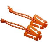 2Pcs multiuso tattico Dominator cavo appendere fibbia clip EDC tessitura cavo di archiviazione ordinato cinturino appendere filo fisso pulsante con stringa elastica