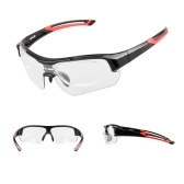 GUB Photochromic Sunglasses UV Protection Outdoor Sport Cycling MTB Bicycle Glasses Goggles with Myopia Frame