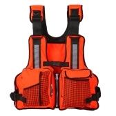 Lixada Bolsillos múltiples chalecos salvavidas chaleco de vela Kayaking canotaje chaqueta chaleco lbs