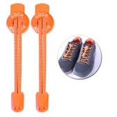 1 paio di 120CM Sport all'aria aperta Laccio Riflettente Pizzo Elastico Arrampicata Running Riding Hiking No Tie Shoe Lace