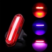 USB перезаряжаемый велосипед задний свет Велоспорт Светодиодный фонарь водонепроницаемый красный