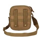 Aire libre táctico del Cruz-cuerpo del bolso MOLLE Utilidad de la bolsa del bolso de hombro del estilo militar Paquete Mochila honda del bolso que va de excursión Trekking Caza Bolsa