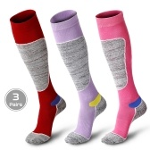 3 Pairs Men Women Winter Terry Thermal Stockings