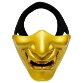 Half Face Mask Lower Face Protective Mask for Camping Games Cosplay Party