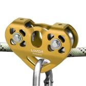 Lixada 30kN Шкив тележки с шарикоподшипником Скалолазание Caving Aloft Work Rescue