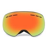 Anteojos de esquí de invierno UVA400 Protección anteojos de snowboard de doble lente OTG Esquí antiniebla esférico de nieve Esquí deportivo Anteojos desmontables Anteojos de lentes magnéticos